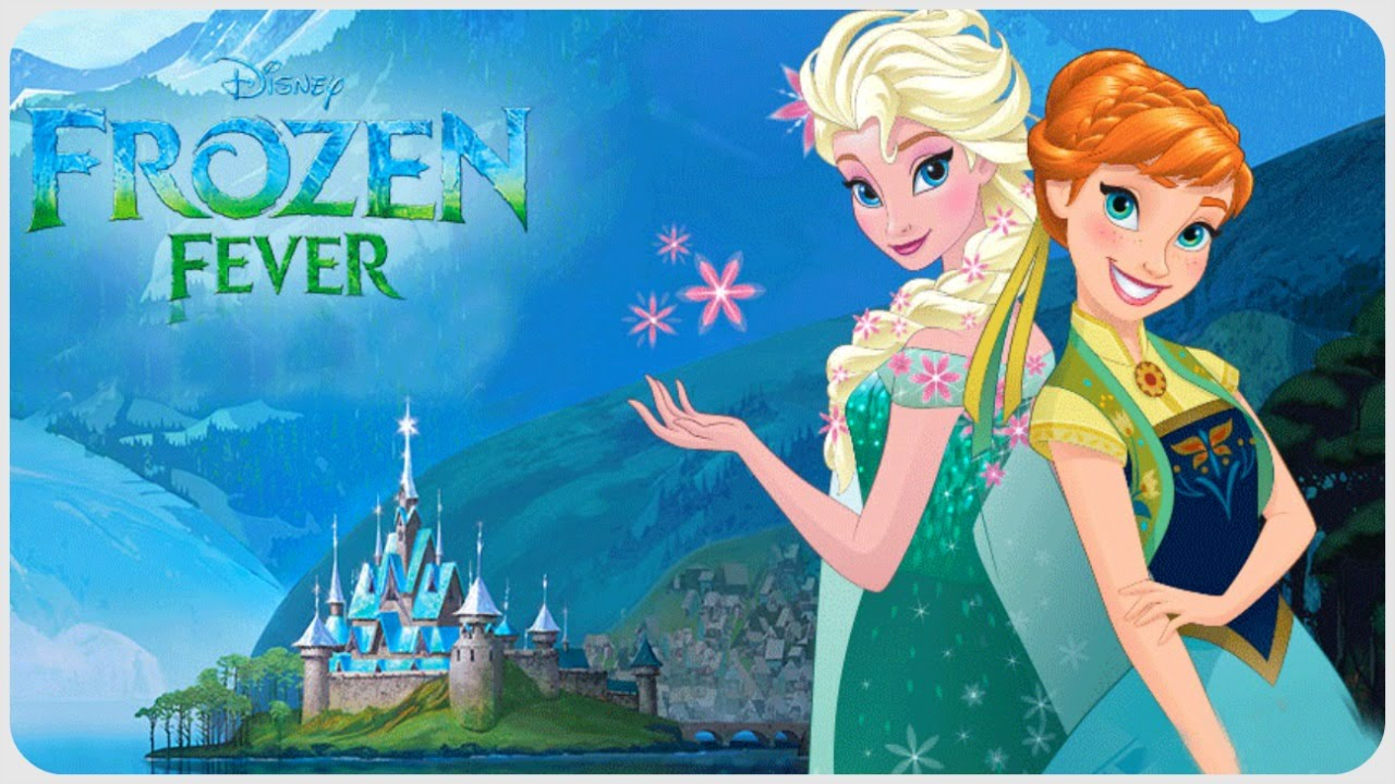 ♡ Disney Frozen Fever Storybook Deluxe ♡ Official Story App In English For  Kids