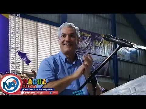 Gonzalo Castillo dice en Nagua la verdadera encuesta será hecha el 6 de octubre