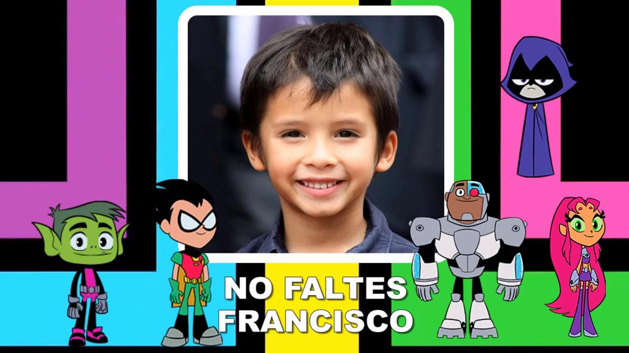 Jovenes Titanes Invitacion De Cumpleaños En Video Para