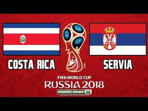 Costa Rica X Servia  Copa Do Mundo  Grupo E  Rodada Pes
