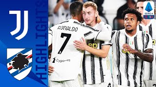 Juventus 3 0 Sampdoria Kulusevski Scores on Debut as Juve Open with a Win Serie A TIM
