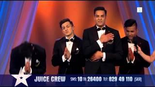 Juice Crew i Norske Talenter-finalen 2014 (inkl. tilbakemeldinger) [HD]