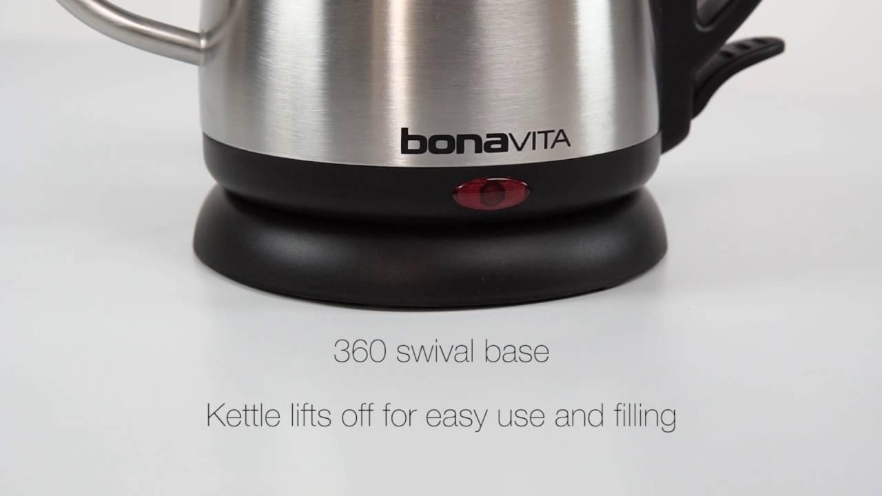 bonavita 1 0l electric gooseneck kettle bv3825b