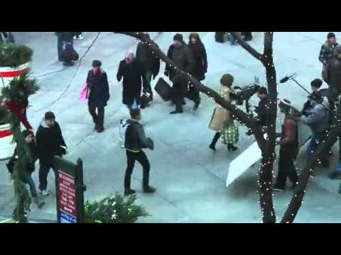 Zac Efron, Michelle Pfeiffer and Garry Marshall filming New Year's Eve Mp3