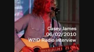 Casey James - 06.02.10 WZID Radio interview