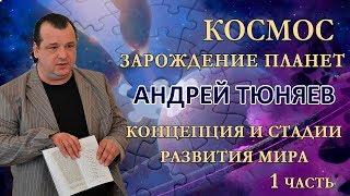 КОСМОС | Андрей Тюняев | Зарождение планеты | Концепция и стадии развития мира | часть 1