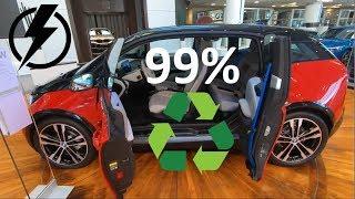 BMW I3 Sport (2020) - سيارة رياضية مصنوعة ٩٩% من مواد قابلة للتدوير