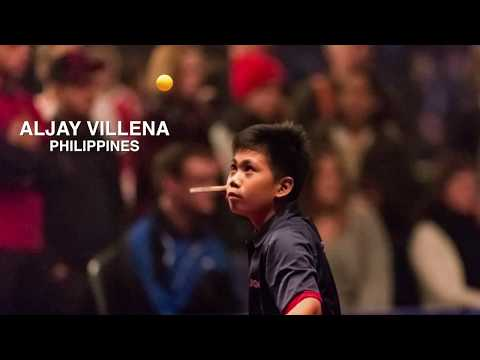 Youngest Filipino Table Tennis Player Competes in the World Championship of Ping Pong 2018