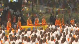 Thousands of people became Buddist Monk Lumbini 2012