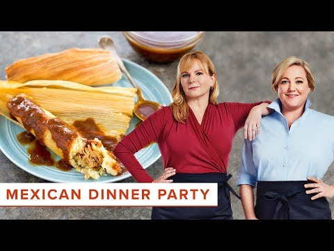 Learn to Make Tamales with Red Chicken Chile Filling & Chorizo and Potato Tacos