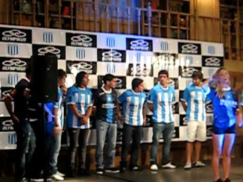 Presentacion de las camisetas de Racing Club / 3ª Parte