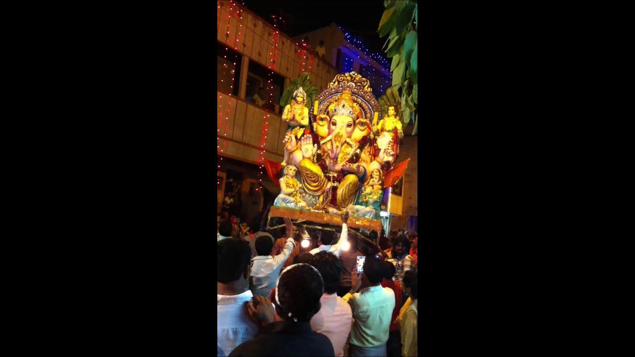 Ganesha procession Bangalore Ulsoor !!