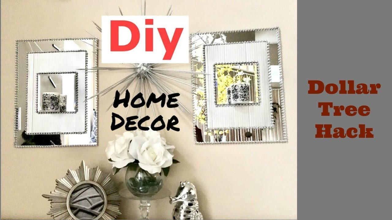Diy mirror sconce using dollar tree items youtube diy mirror sconce using dollar tree items amipublicfo Image collections