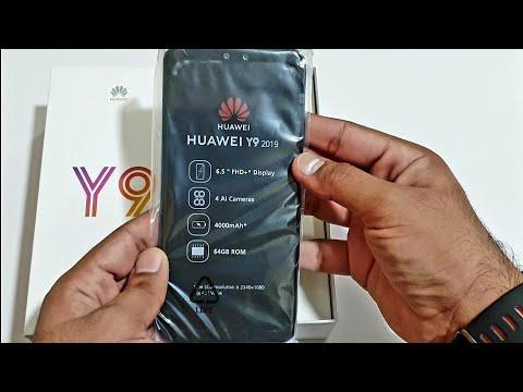 Huawei Y9 2019 - Unboxing! (4K)