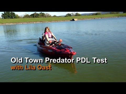 Lila's Old Town Predator PDL Test: Fishyaker.com