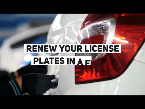 Vehicle Registration Services | License Plate Renewal, City