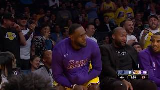 "LeBron James Got Staples Center To Chant ""Taco Tuesday"""