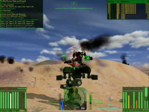 MechWarrior 4 MP3 1 - Online Gameplay Showcase 1