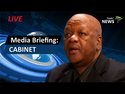 Jeff Radebe briefs media on outcomes of Cabinet meeting