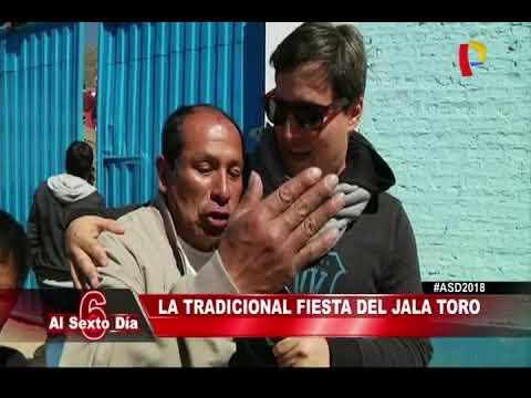 """Huancavelica: Al Sexto Día participa del tradicional """"Jala Toro"""""""