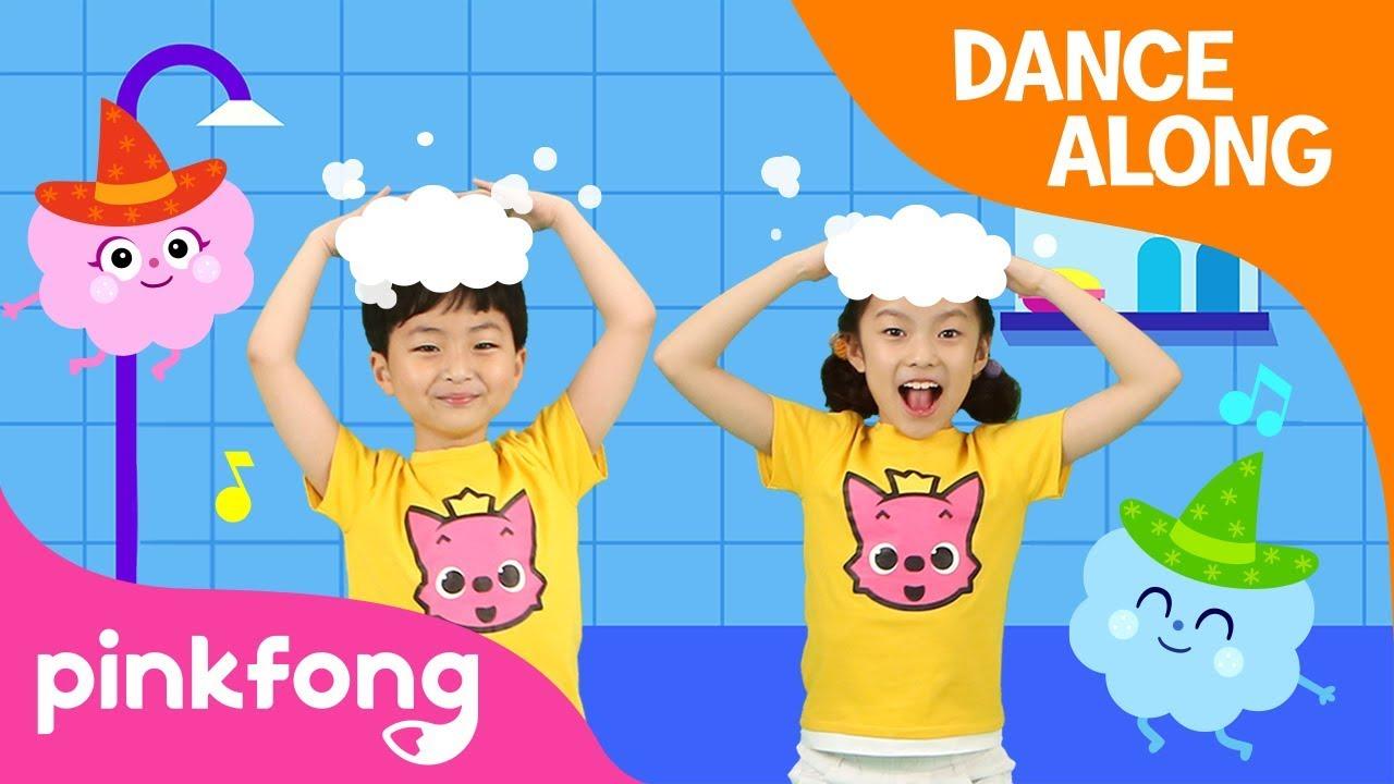 wash hair shampoo song dance pinkfong songs children youtube