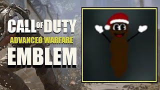 COD AW / Call of Duty Advanced Warfare : Mr Hankey The Christmas Poo South Park Emblem Tutorial