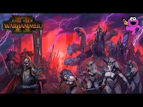 Total War Warhammer 2 - Dark Elves Full Army Roster and Battle Mechanics + DLC Discussion