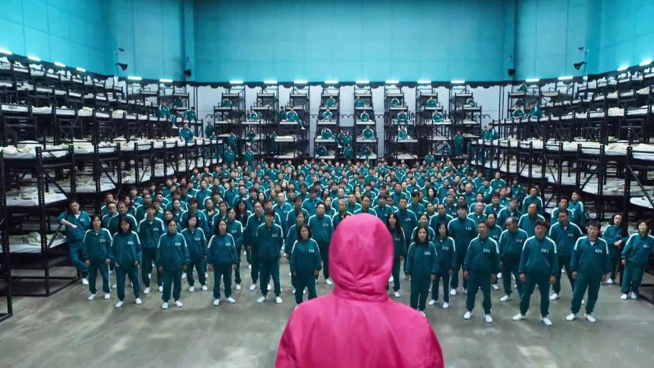 魷魚1:一群屌絲被抓,玩一二三木頭人,輸者死,贏者最高獎456億!韓國最新大逃殺,人性展露無疑,看得心驚膽戰