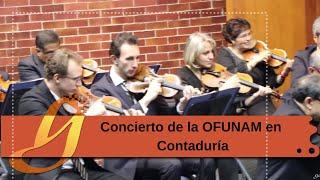 Concierto de la OFUNAM en Contaduría - UNAM Global thumbnail