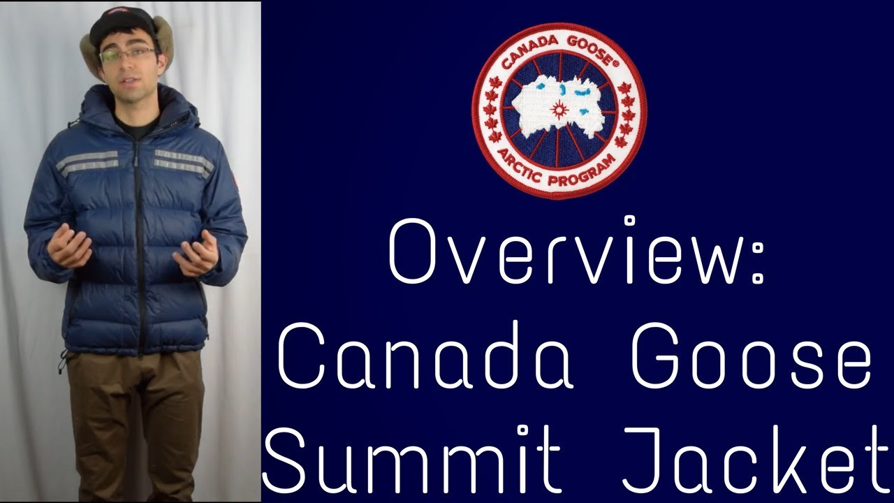 0cd993aa730 Canada Goose Summit Jacket: Overview - YouTube