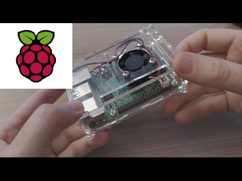Raspberry Pi 3 - installation of heat sinks, acrylic housing and fan, measured temperatures