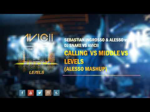 Calling vs Middle vs Levels (Alesso Mashup)[Nyco Edit]