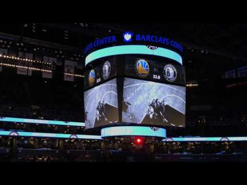 Brooklyn Nets 2016 2017 Intro (vs. Golden State Warriors)