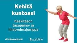Tasapaino- ja lihasvoimajumppa: keskitaso