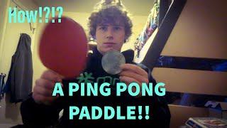 Making Magic w/ a PING PONG Paddle!?!