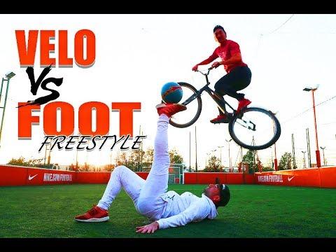 JE DÉFIE LE CHAMPION DU MONDE DE FOOT FREESTYLE (Vélo vs Football)