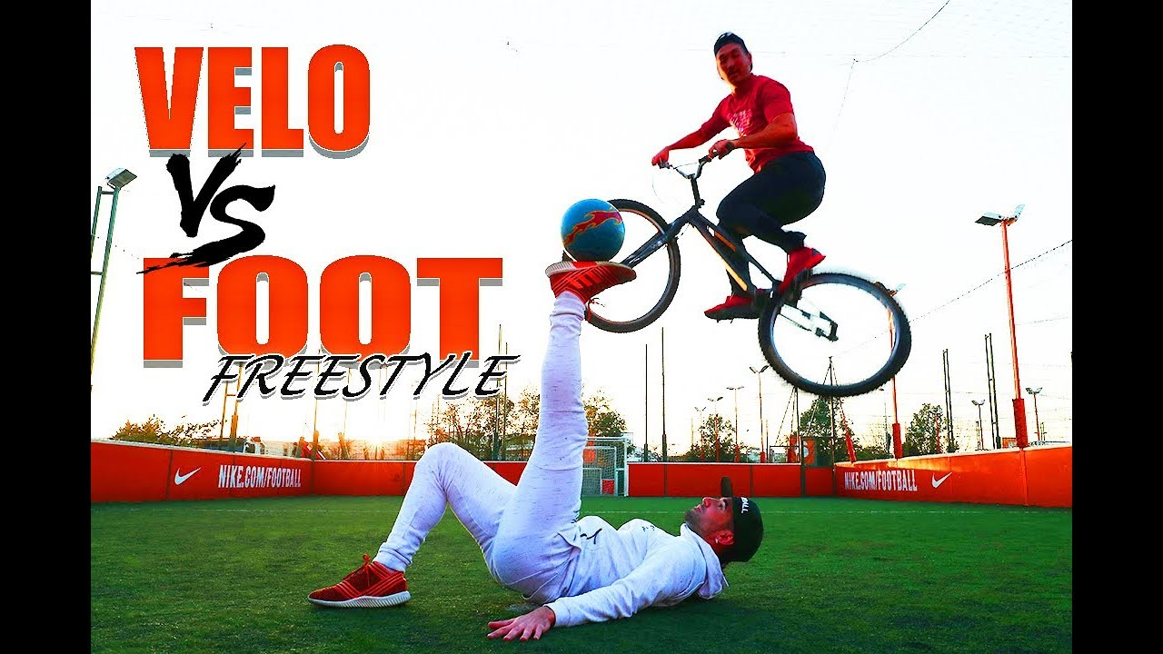 JE DÉFIE LE CHAMPION DU MONDE DE FOOT FREESTYLE (Vélo vs Football)