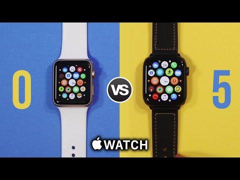 Apple Watch Series 5 vs Series 0 (Original) Ultimate Comparison!