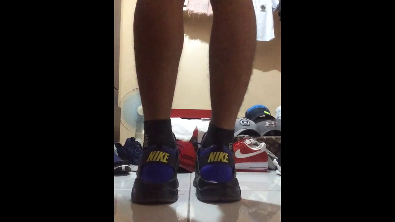 sports shoes 78247 08759 Nike air huarache run ultra SE(anthracite)ON FEET.