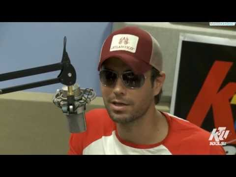Enrique Iglesias Interview at KTU 103.5 (New 2013) (HD)