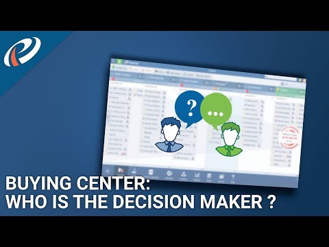 Who is who in the company? Pipeliner CRM: Buying Center/Org Chart