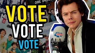 VOTE for your favorite One Direction ALBUM + SURPRISE