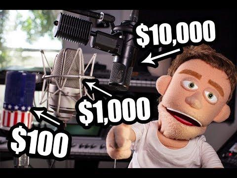 $10,000 mic vs $100 mic