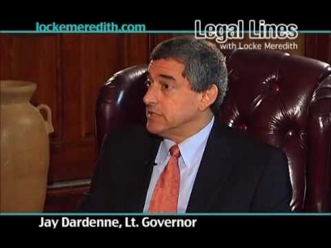 Jay Dardenne discusses tourism in Louisiana & the BP oil spill on Legal Lines with Locke Meredith