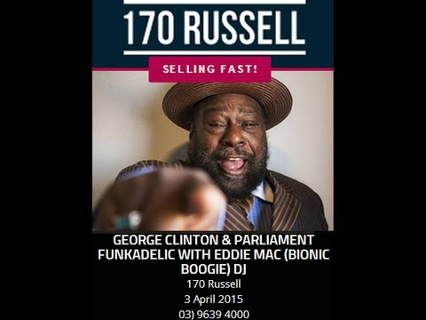 George Clinton P Funk, 3rd April 2015 MELBOURNE by Funky Lee