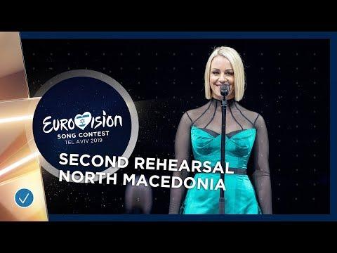 North Macedonia 🇲🇰 - Tamara Todevska - Proud - Exclusive Rehearsal Clip - Eurovision 2019