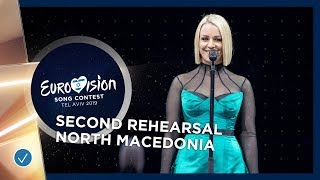 North Macedonia 🇲🇰 - Tamara Todevska - Proud - Exclusive Rehearsal Clip - Eurovision 2019