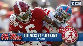 Ole Miss vs Alabama Recap: Tagovailoa, DeVonta Smith set records as No. 2 Tide dominate | CBS Sports