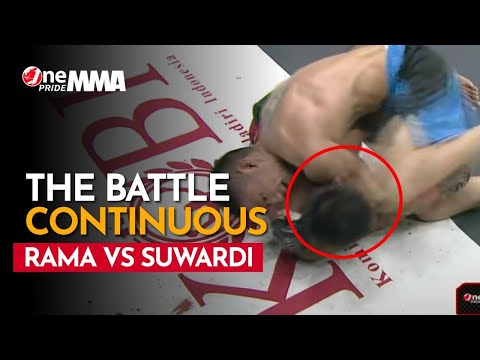 Saling Balas! Rama Supandhi Vs Suwardi, Laga Saling Mengunci    The Battle Continuous One Pride MMA