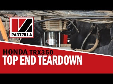 Honda Rancher 350 Top End Rebuild Part 1: Engine Teardown | Partzilla.com